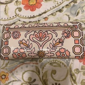 Tory Burch Bags - Tory Burch Fleming printed wallet summer 2018 used